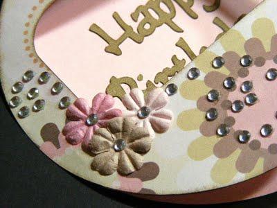 Happy Birthday circle card 3