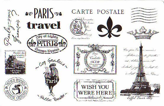 Paris stamps